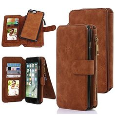 Miniko(TM) iPhone 7 Plus Lady Zipper Clutch Wallet Purse Handbag Clutch Case/Purse/Wristlet/Wallet/Clutch/Folio/Credit Card Holder Leather Case for Women Girls Brown  BUY NOW     $14.99      Product Description :   Miniko has always devoted itself to providing fashion and superior products with the end-users, so  ..  http://www.welovefashion.top/2017/03/14/minikotm-iphone-7-plus-lady-zipper-clutch-wallet-purse-handbag-clutch-casepursewristletwalletclutchfoliocredit-card-holder-..