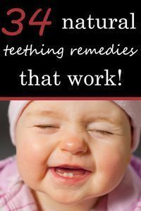 34 Strategies to Defeat Baby Teething Pain and Get More Sleep! Every tip on the planet - homemade DIY & All Natural Remedies http://powellsowls.com/pages/34-natural-teething-remedies