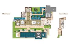 Phuket Luxury Villa layout plans and descriptions – Andara Signature Resort Villas