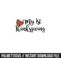 Silhouette Cameo, Silhouette Files, Monogram Fonts, Cutting Files, Cricut, Thanksgiving, Clip Art, Zip, Create