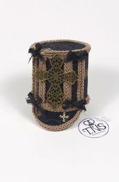 Mini Shako Hat in Gothic Saint