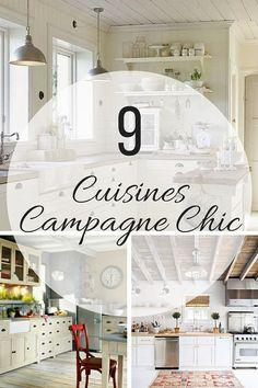 Cuisine Campagne Chic : 9 Magnifiques Idées de Déco