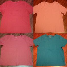T-shirt bundle Four t-shirts included All size XXL  New & like new  No flaws Tops Tees - Short Sleeve