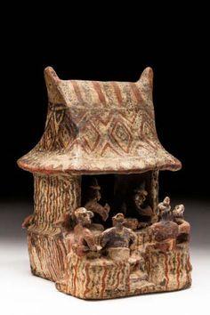 Sculpture, Nayarit, c. 200 BC - 400 AD - Museo Nacional de Antropología