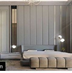 Minotti Creed bed and Freeman bench. Available design credit Modern Bedroom Design, Master Bedroom Design, Contemporary Bedroom, Home Decor Bedroom, Interior Design Living Room, Bedroom Bed, Master Suite, Modern Contemporary, H Design