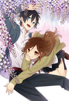 Miyamura x Hori #flowers - Horimiya