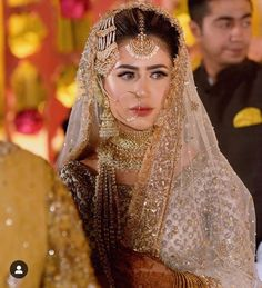 Traditional and beautiful bridal dresses for this wedding season Asian Bridal Dresses, Beautiful Bridal Dresses, Pakistani Wedding Outfits, Indian Bridal Outfits, Pakistani Wedding Dresses, Pakistani Bridal Jewelry, Bridal Jewellery, Fancy Jewellery, Nikkah Dress