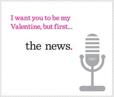 NPR Valentines: Expressions of love, public radio style. LOVE THIS!