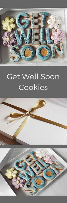 Get Well Soon Cookie Gift Box #affiliate
