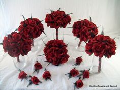 gothic Black and Red wedding ideas - Bing images