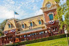 Disneyland Railroad Station