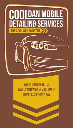 Car, business card, detailing, logo