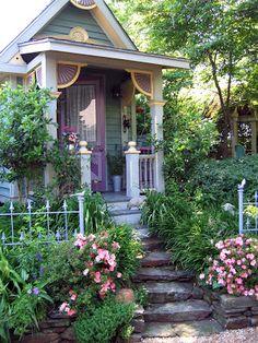 paradis express: Cecile's garden