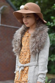 Girls Autumn Outfit - by FnF Clothing  -  Girls style, Kids Fashion, Girls Fashion, Autumn wear for kids