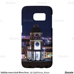Halifax town clock Nova Scotia Samsung Galaxy S7 Case