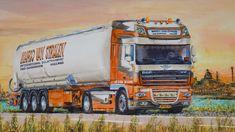 Holland, Truck Art, Euro, Transportation, Trucks, Vehicles, The Nederlands, The Netherlands, Truck