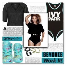 """Slay All Day: Style Beyonce's Ivy Park!"" by dolly-valkyrie ❤ liked on Polyvore featuring Ivy Park, Topshop, adidas and Beyonce"