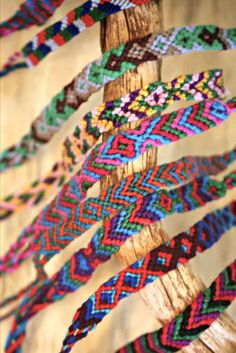 Our colorful Fair Trade Friendship Bracelets are completely handmade in various styles and patterns by Fair Trade artisans in Guatemala. Thread Bracelets, Woven Bracelets, Ankle Bracelets, Handmade Bracelets, Making Bracelets, Handmade Jewelry, Jewelry Making, Friendship Bracelets Designs, Friendship Symbols