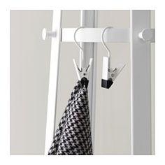 ENUDDEN Krok med klämma, vit - IKEA