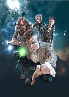 Ooh - 3D(ish - when you click to view it on imgur) #doctorwho