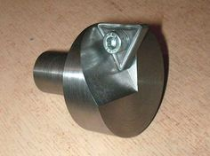 Flycutters and brazed carbide.