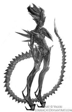 Alien Queen by LerikaCat.deviantart.com on @deviantART