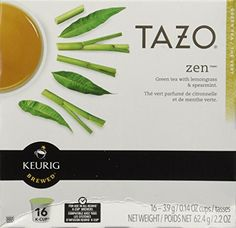 Starbucks Tazo Tea * Zen * Green Tea, 16 K-Cups for Keurig Brewers - http://teacoffeestore.com/starbucks-tazo-tea-zen-green-tea-16-k-cups-for-keurig-brewers/