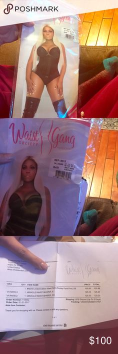 13ad72f363dab Waist gang society Brand new in plastic with tags payed 150 with tax and  shipping waist gang Intimates   Sleepwear Shapewear