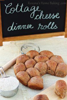 requesón panecillos de trigo |  Roxanashomebaking.com