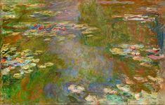 Wasser-Lilien (70), 1919 von Claude Monet (1840-1926, France). Eine von 250 Monets Lilien. Welche waere fuer Sie die beste?