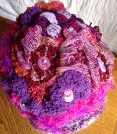 Free form crochet by Knicrocra $60.00