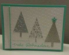 Christmas Card, Stampin' Up!, Festival of trees, Christbaumfestival, Wünsche zum Fest.