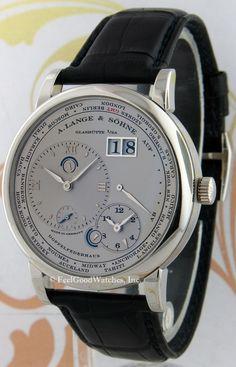 8ea42a8bc643a A. Lange   Sohne 116.025 Lange 1 Time Zone, Platinum Joalheria, Relógios  Para