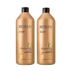 Redken Diamond Oil Shampoo + Conditioner 33.8 Oz