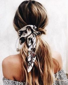 Ponytail hairstyle - 40 Pretty hairstyle you should try #hair #hairstyles #braids
