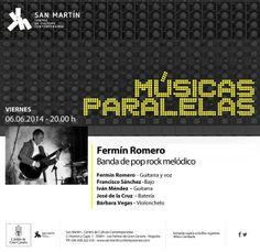 Noche y Día Gran Canaria: Música en vivo - 06/06: Fermín Romero en San Martín C.C.C.