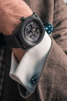 Watches fitted with visible manufactured movements are fascinating, but often unaffordable. The combines a spectacular mechanism with an affordable price thanks to a high-quality standard movement Mechanical Watch, Smart Watch, Watches, How To Wear, Men, Smartwatch, Clocks, Clock, Guys