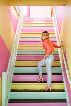 Interior - sasha bikoff designs fitness studio with miami vice and memphis influences – Interior Contemporary Design, Modern Design, Wood Design, Art Deco Hotel, Nightclub Design, Artistic Tile, Miami Vice, World Of Interiors, Fitness Studio