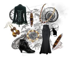 """""""Mary"""" by theblackcatjewellerystore ❤ liked on Polyvore featuring Dinosaurs, Funtasma, jewelry, jewellery and handmade"""