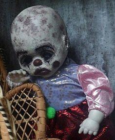 OOAK-Sad-Evil-Killer-Zombie-Clown-Baby-Doll