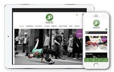 JP Events fait confiance à l'agence Web4 pour la création de son nouveau site web www.jp-events.ch en ligne maintenant! Home Staging, Site Web, Creations, Father, Tents, Baby Born, Fishing Line, Simple, Pai