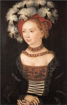 Portrait of a Young Woman, 1530, Lucas Cranach the Elder, Saxony, Germany