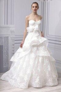 Top Wedding Dress Designers 2014: Monique Lhuillier