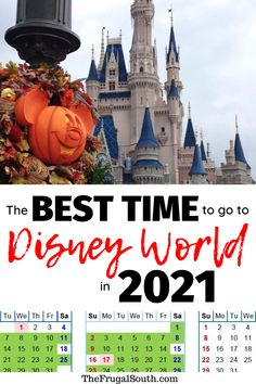 Get the best time to go to Disney World Best time to visit Disney world 2021 and Disney World 2021 tips. Disney world planning and Disney vacation advice. Disney On A Budget, Disney World Vacation Planning, Walt Disney World Vacations, Disney Planning, Disneyland Trip, Disney World Resorts, Trip Planning, Disney World Tips And Tricks, Disney Tips