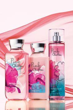 A light-as-air blend of soft pink petals & vanilla chiffon icing.