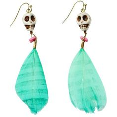Scotch & Soda Native Inspired Earrings ($32) ❤ liked on Polyvore