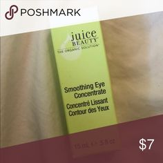 Juice Beauty Smoothing Eye Concentrate New in box / Never used  .5 oz juice beauty Makeup Eye Primer