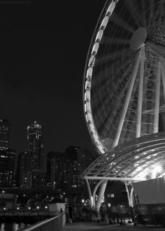 ferris wheel photography black and white sky city cool people animated lake carnival gif ferris wheel