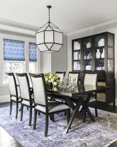 Fashion Plate: A Stylish Dining Room With Lots Of Storage