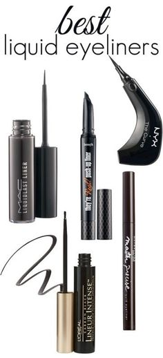The BEST Liquid Eyeliners #PerfectEyeliner